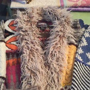 DESIGUAL multi patterned size x-large sweater 😍😍